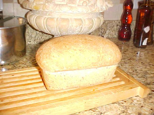Bread Machine Wheat Bread With Flax Seed