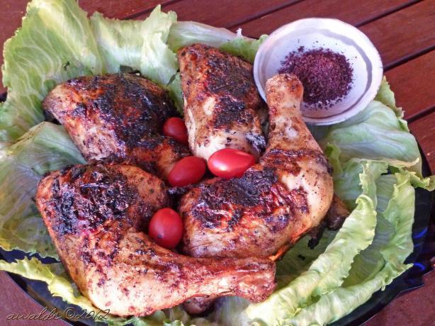 Chicken With Sumac(Jujeh Al Sammak)