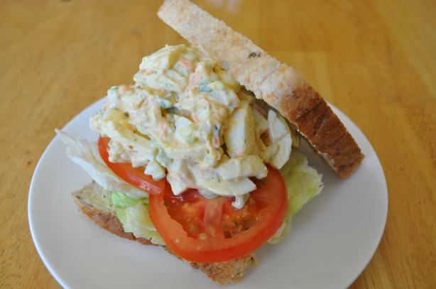 Garden Vegetable Egg Salad