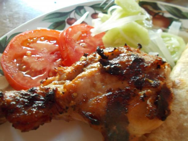 Afghan - Style Chicken (Murgh)