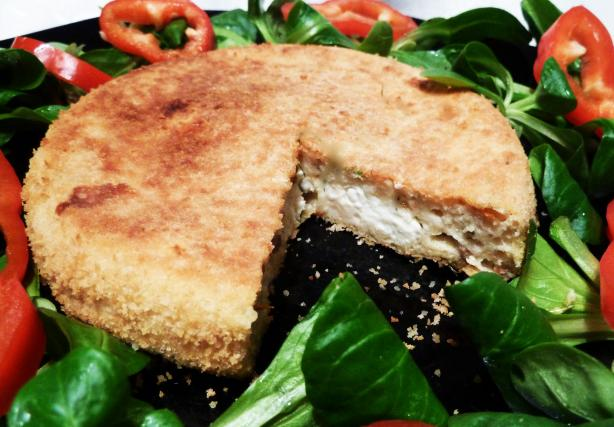 Feta Cheese Souffles with Salad