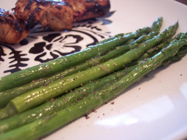 Asparagus Salad with Lime Vinaigrette