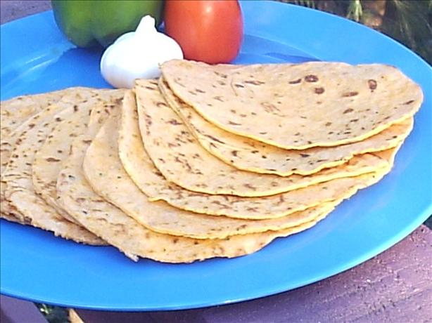 Flour Tortillas (Sun-Dried Tomato, Red Bell Pepper, Garlic &