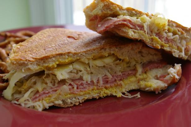Reuben Sandwich - Microwave