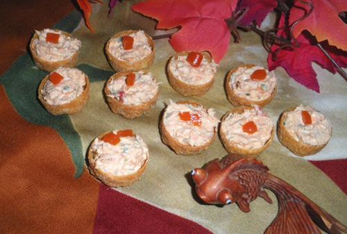 Salmon Stuffed Siljans