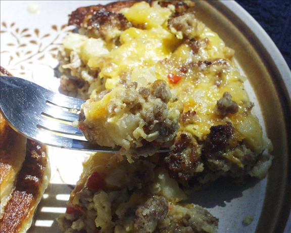 Easy Breakfast Pie