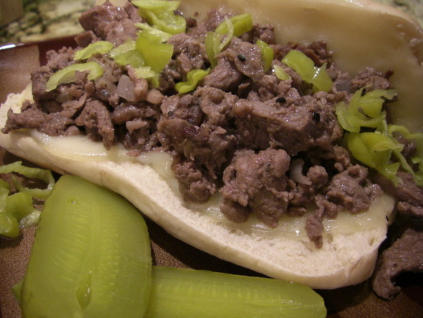 Julie's Philly Cheese Steak Sandwiches