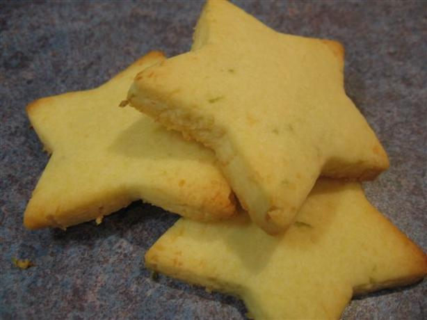 Lime Coconut Shortbread