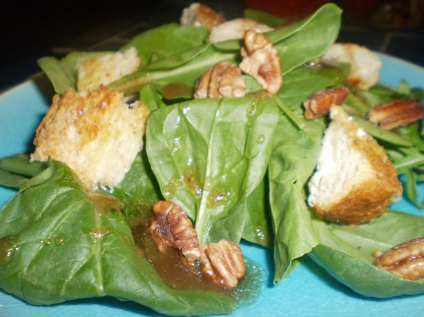 Salade Au Chevre (Goat Cheese Salad)