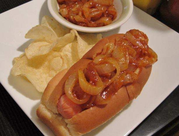 New York-Style Hot Dog Onions