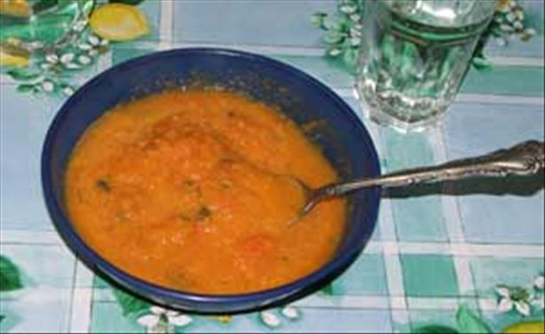 Carrot and Coriander Winter Soup