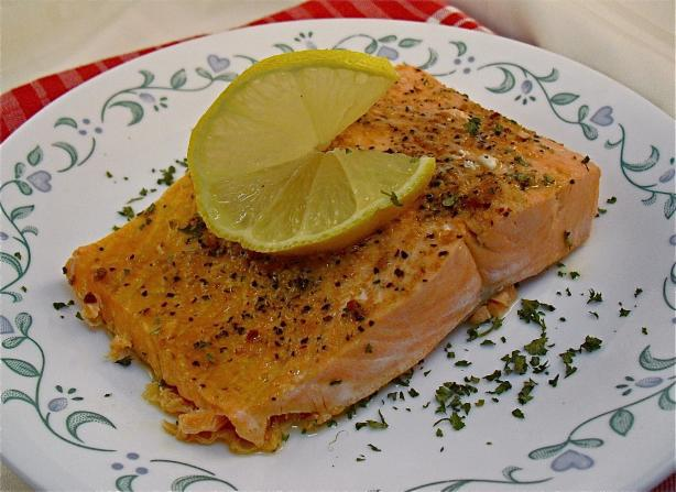 Microwave Salmon Fillets