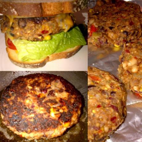 Smackin' Veggie Burgers