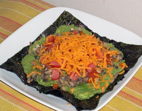 Chef Joey's Vegan Nori Pizzas