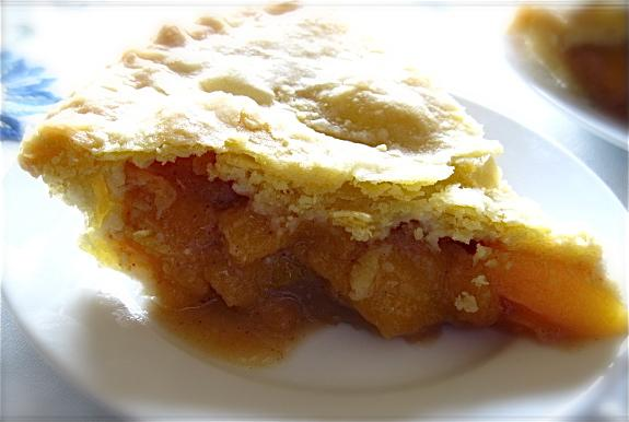 Prize-Winning Peach Pie