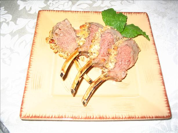Rack of Lamb With a Honey-Hazelnut Crust