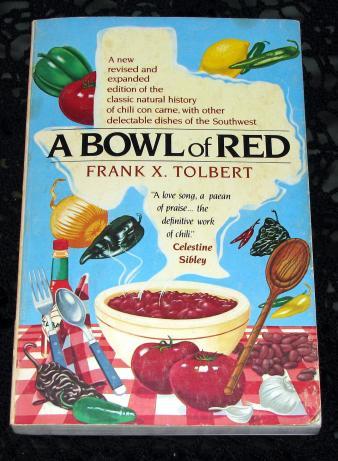 Frank X. Tolbert's Original Bowl of Red