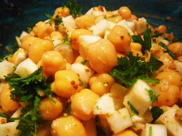 Chickpea and Celery Salad
