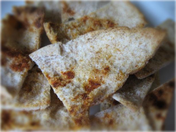 Spiced Pita Cumin Crisps