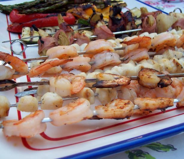 Easy Grilled Antipasto Platter