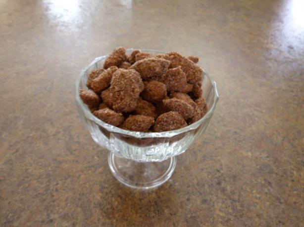 Sugared Cinnamon Almonds
