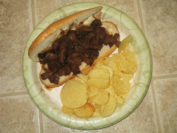 Teriyaki Steak Sandwich With a Twist