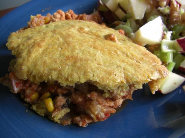 Mexican Shepherd's Pie With Cornmeal Buttermilk Topping