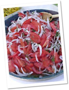 Tomato and Sweet Onion Salad