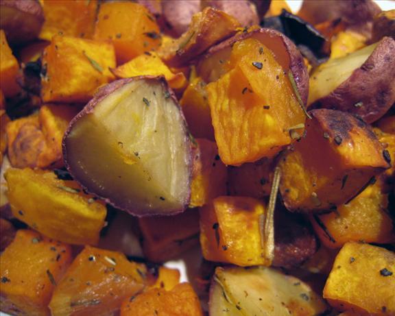 Roasted Squash, Potatoes, Shallots & Herbs