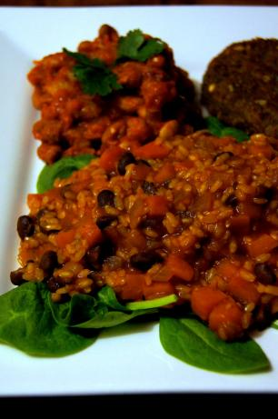 Senegalese Sweet Potato, Rice and Beans Stew