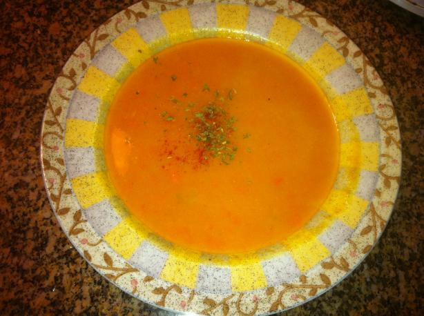 Butternut Squash Soup - Vegan