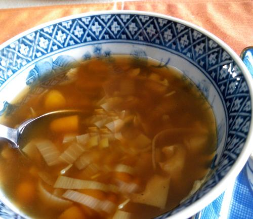 Golden Vegetable Soup