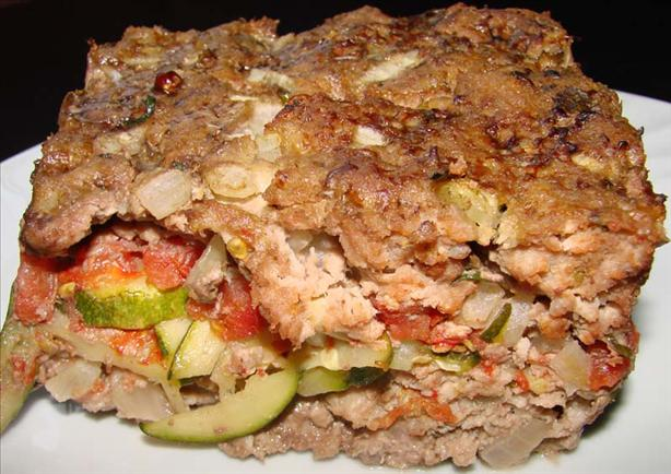 Turkey and Vegetable Loaf