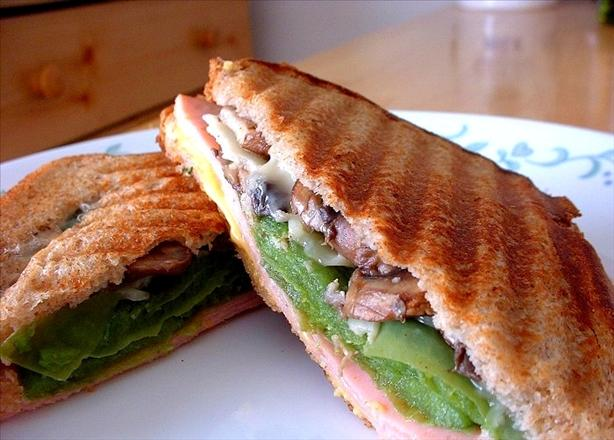 Turkey 2-Cheese Panini With Sauteed Vegetables