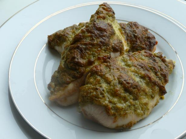 Creamy Pesto Chicken