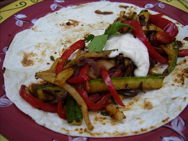 Roasted Vegetable Fajitas