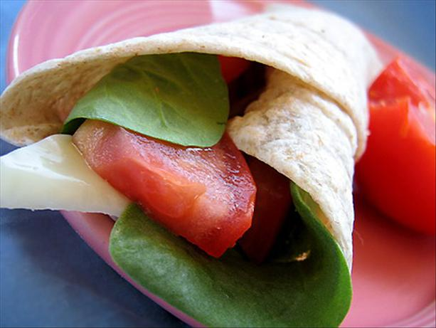"Subway Vegetable ""delite"" Wrap (Copycat)"