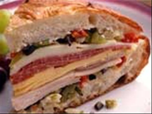 Muffuletta W/ Kickin Olive Salad
