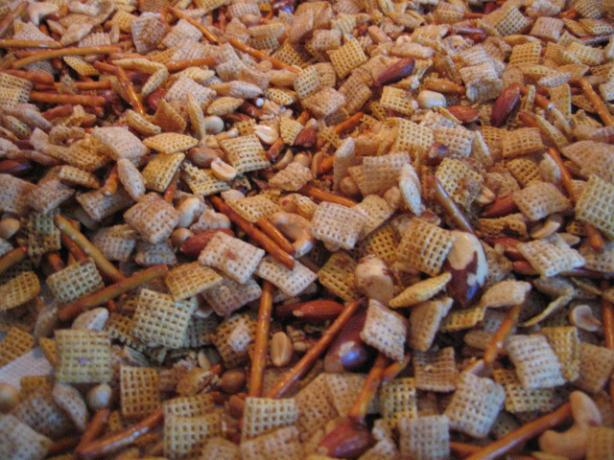 Traditional Chex Party Mix