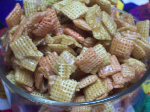 Quick Chex Mix Candy