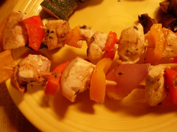 """pick Me Up"" Party Chicken Kabobs"