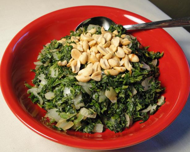 Spinach and Groundnuts (Peanuts - Eastern Africa)