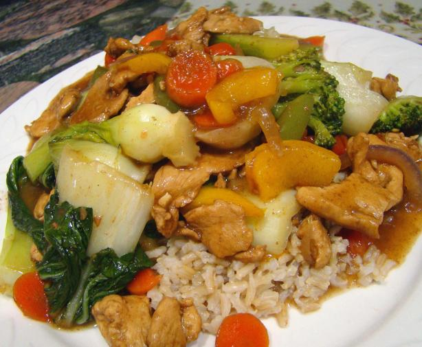 Summer Garden Chicken Stir-Fry