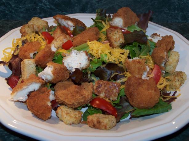 Easy Chicken Parmesan Salad