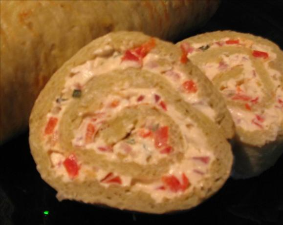 Savoury Potato Roll With Cream Cheese Filling