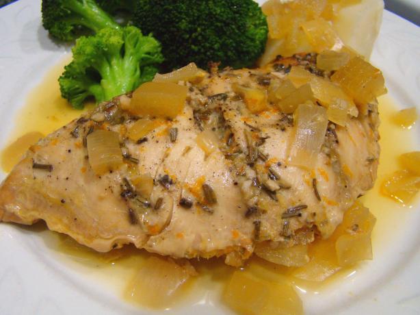 Herbed Turkey Breast With Orange Sauce - Crock Pot