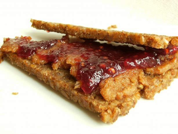 Almond Butter and Jam Sandwich