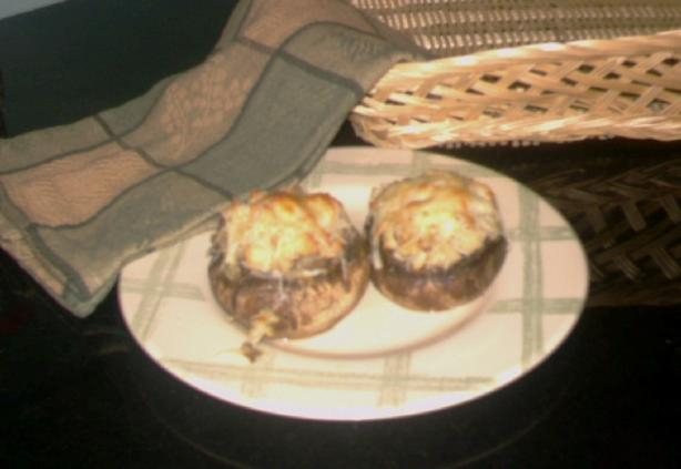 Spinach & Artichoke Stuffed Mushrooms