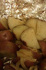 Simple Grilled Red Potatoes