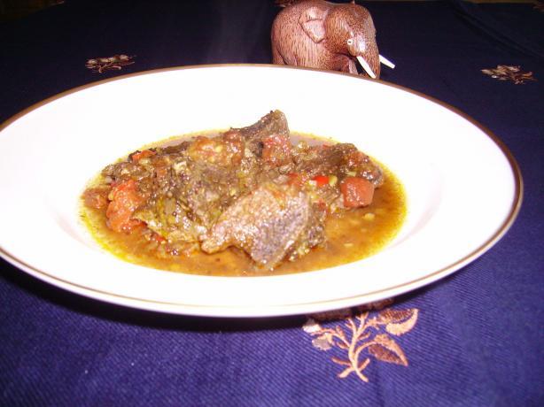 """""""harak Mas Curry"""" Sri Lankan Beef Curry"""